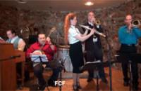NOJCSC meeting — the club president's band plays